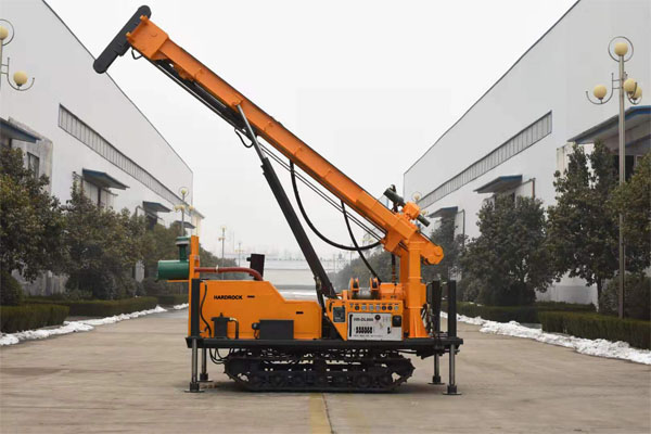 Crawler Mounted Water Well Drilling Rig | Affordable